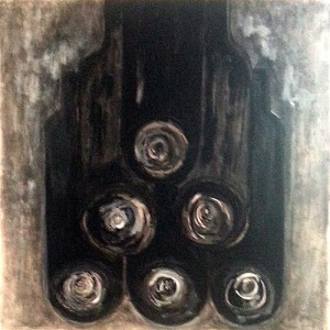 bouteilles en cave