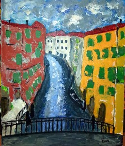 Venise bleue