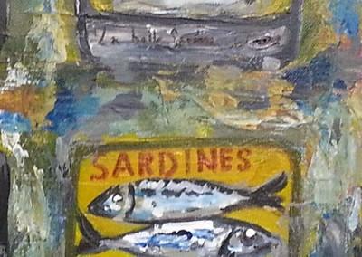 2 boîtes sardines