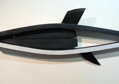 Requin peint