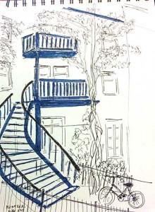 Canada-escalier